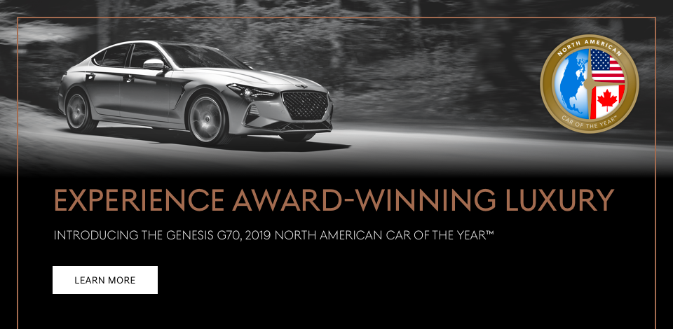 2019 G70 Car of the Year