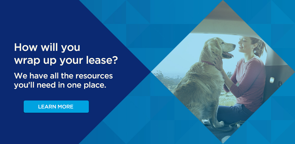 How will you wrap up your lease?