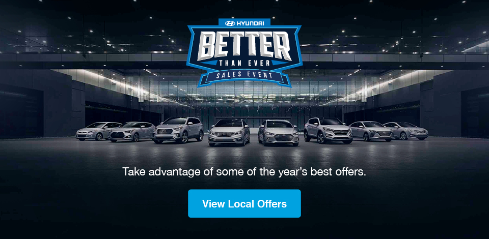 2017 Hyundai Sales Event