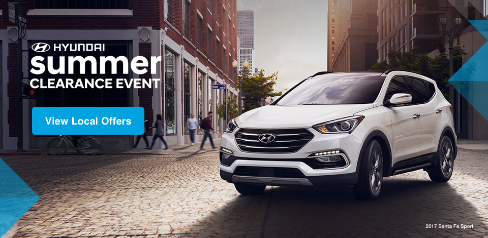 2017 Hyundai Summer Clearance
