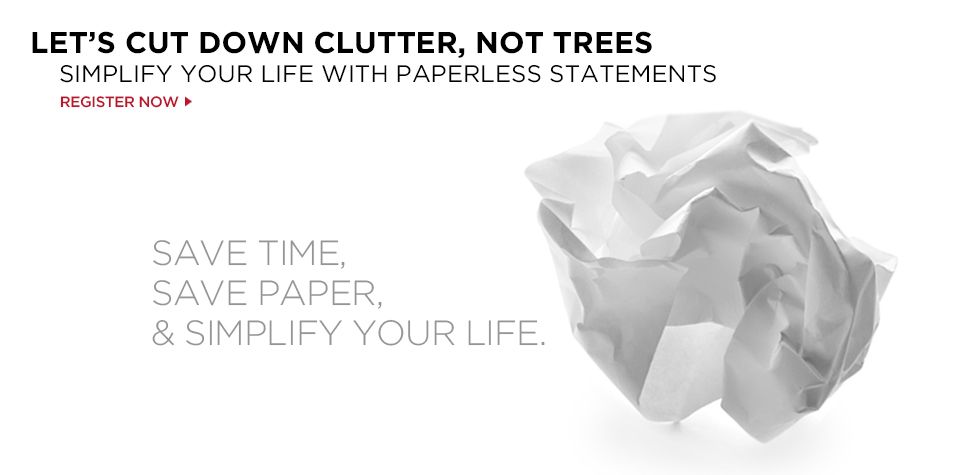 Let's Cut Down Clutter, Not Trees