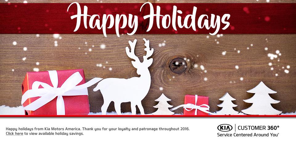Kia Happy Holidays 2016