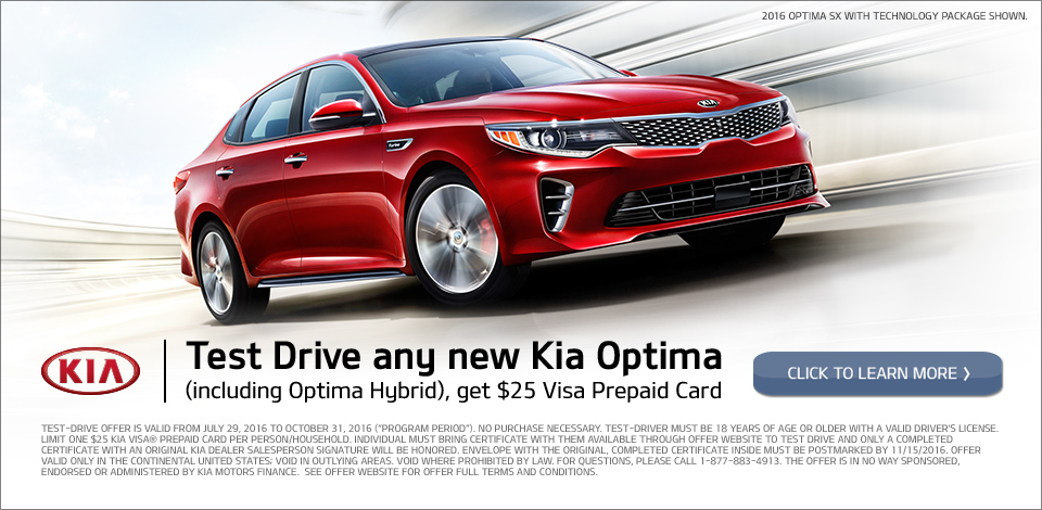 Kia Optima Test Drive