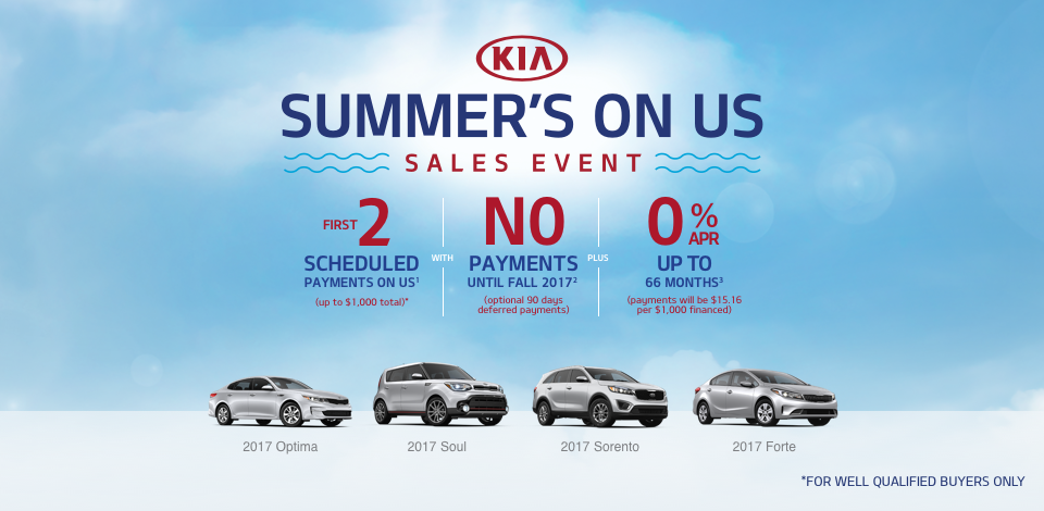 2017 Kia Summers On Us