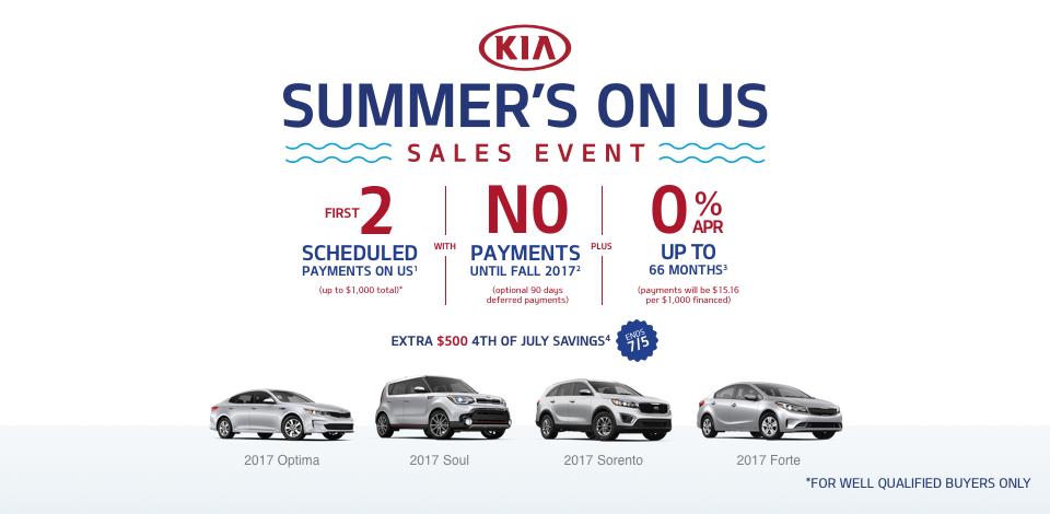 2017 Kia Summers On Us