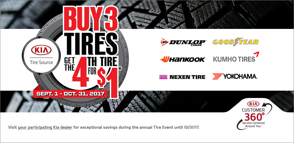 2017 KIA Tire Event