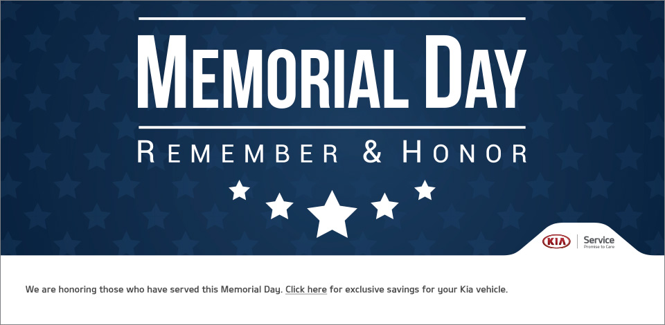 KMF Memorial Day